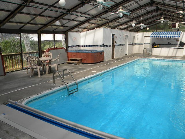 Indoor Pool/Hot Tub  on Premise open all year round