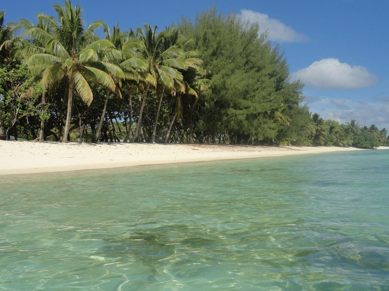 Nikao beach - 1 minute drive from property