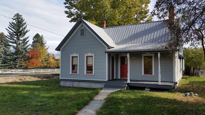 Cozy Cottage in Salmon, alquiler de vacaciones en Salmon