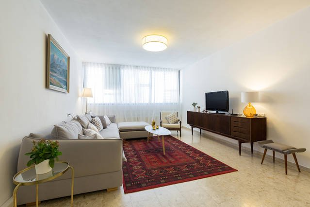 A Beautiful apartment, by the beach of Netanya, aluguéis de temporada em Distrito Central