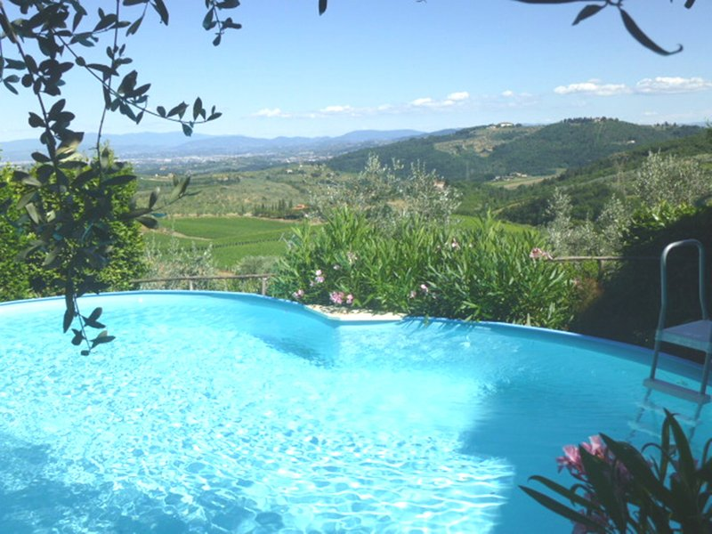 FLORENCE,MARGHERITA APARTMENT, IN VILLA GARDEN,POOL,TERRACE, vacation rental in Bacchereto