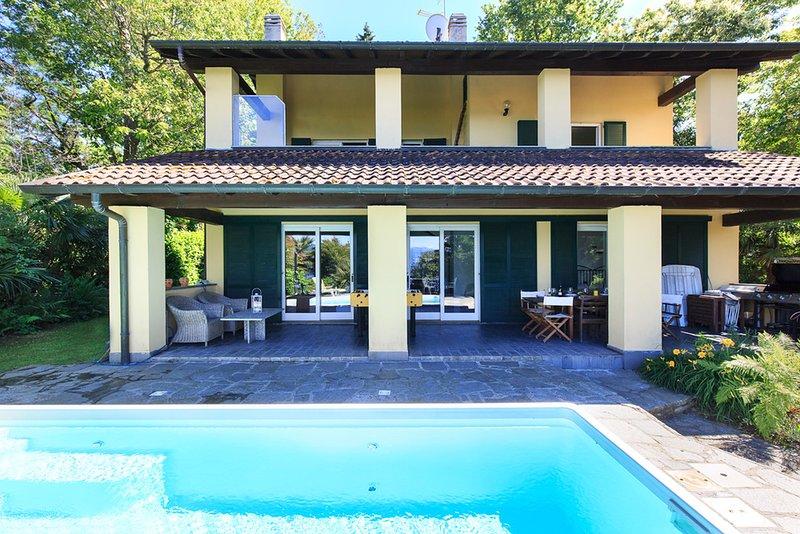 Villa La Pastorale, Ranco Lago Maggiore - northitaly Villas Casas de férias