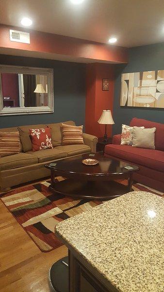 Sala de estar confortável