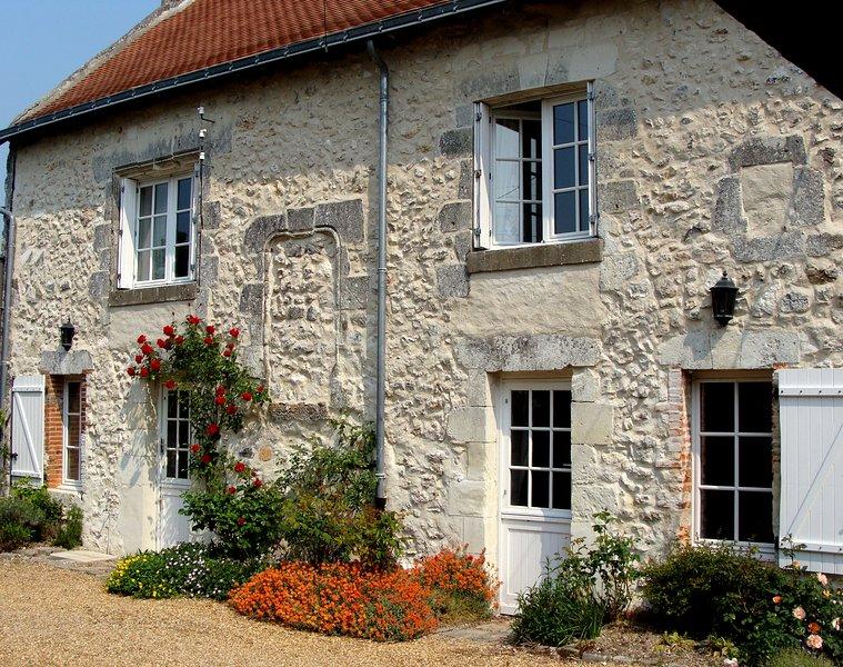 Nuestra presbiterio siglo 15, escondido en un pueblo de Valle de Loira