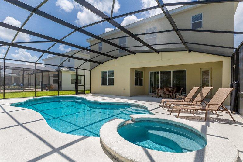 Schöne Ferienhaus in der Nähe von Disney World in Orlando Florida, kommen mit der Familie und das beste.