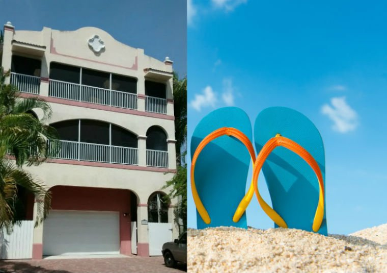 Casa BEACH LIFE - for up to 10 P., 2 Units, Pool, holiday rental in Fort Myers Beach