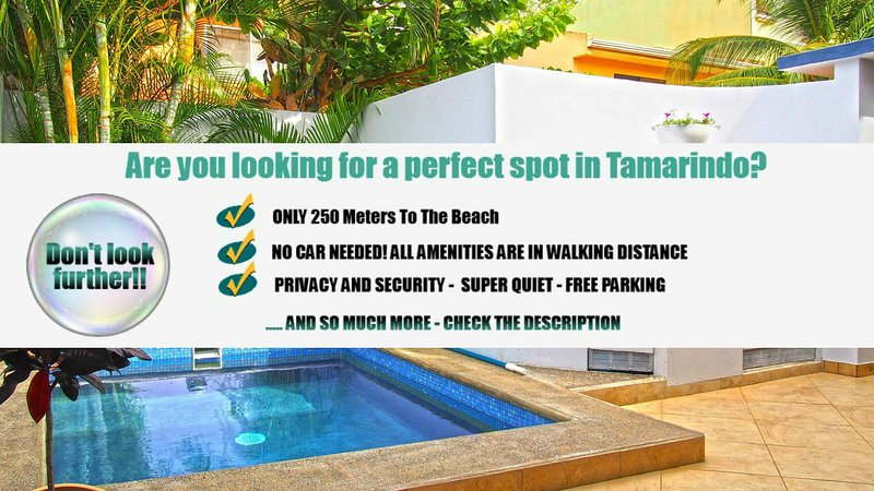 Private Vacation Rental Tamarindo - Enjoy your holidays with family or friends near the beach