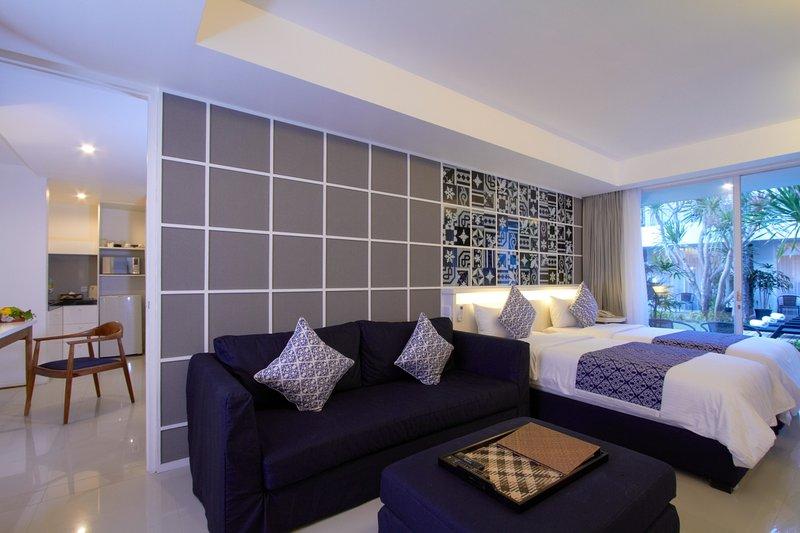 One Single Bedroom Suite