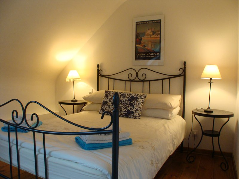 A double bedroom with en-suite, separated from the other bedrooms so perfect for grandparents!