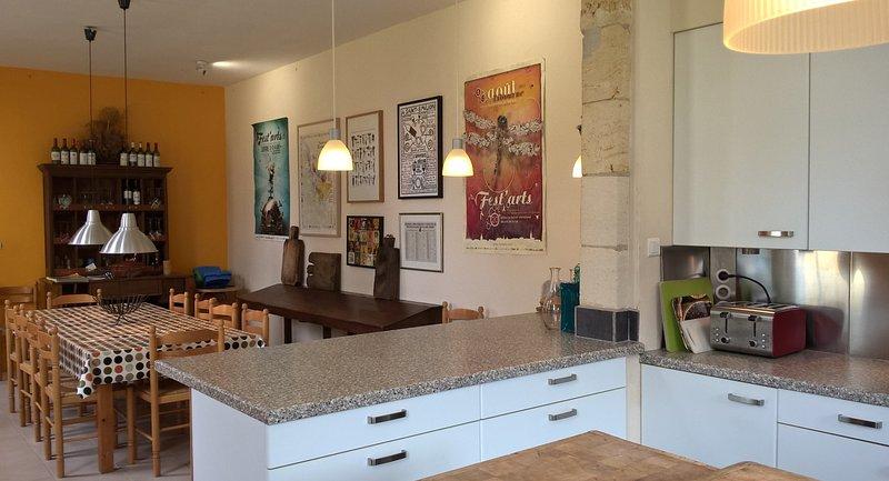 sala de pequeno-almoço de cozinha para 12 pessoas