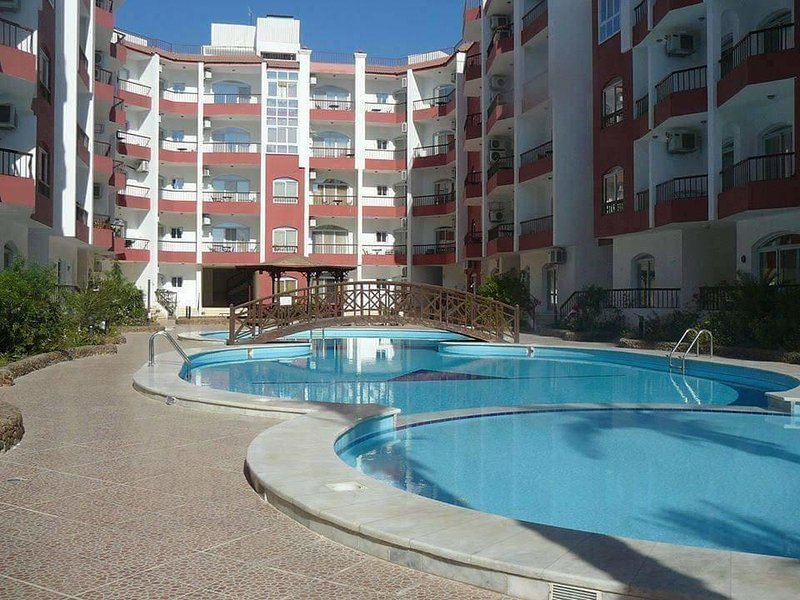 Hotel Apartment in Desert Pearl Resort with swimming pool, holiday rental in Makadi Bay