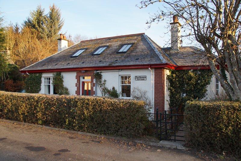Willkommen auf der Cottage-Krankenschwester, Comrie, Schottland.