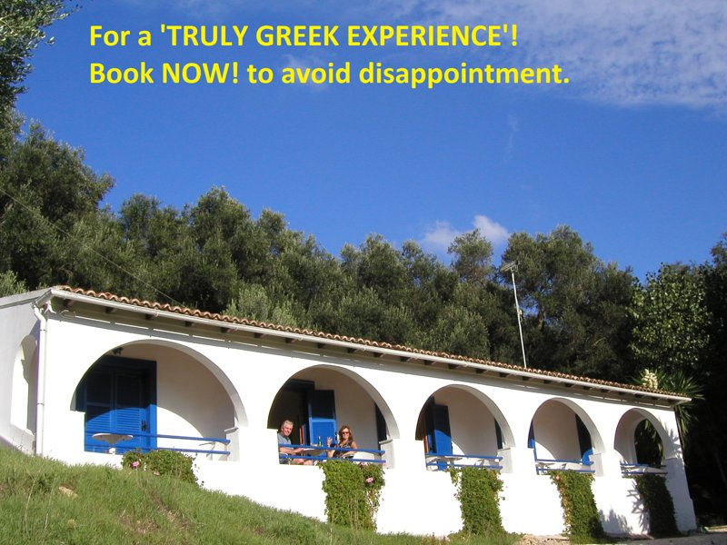 Melianou Holidays!  For a 'TRULY GREEK EXPERIENCE' Book NOW!