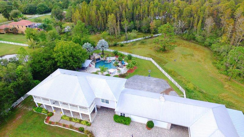 Luxury Estate with Resort Style Pool, alquiler de vacaciones en Lutz