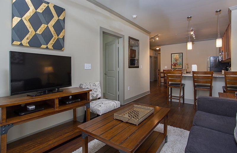 Stay Alfred Nashville Vacation Rental Sala de estar