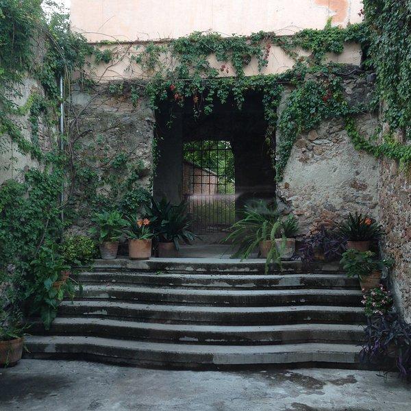 paredes antigua hacienda