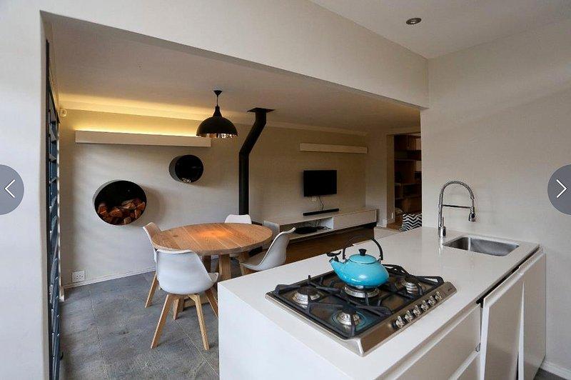 Cottage Chenin - Cuisine et salon