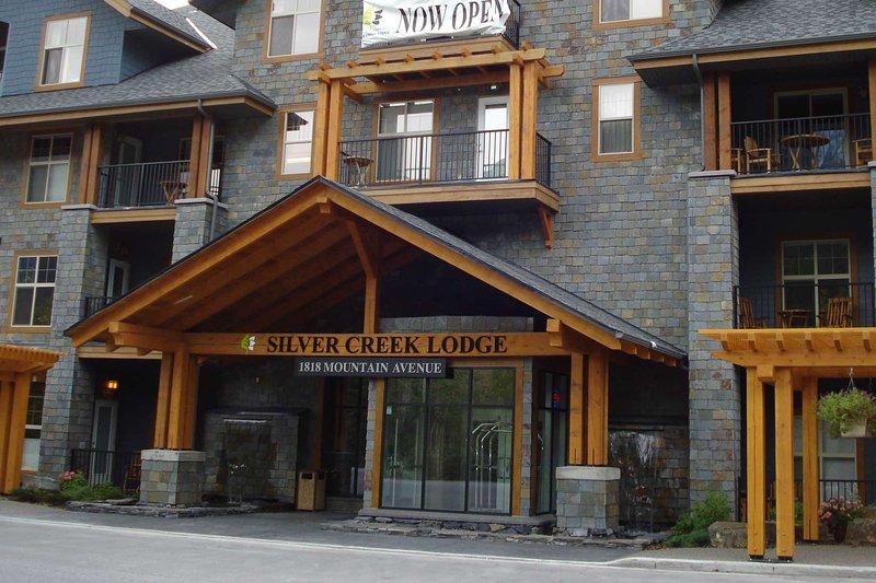 Silver Creek Lodge's main entrance
