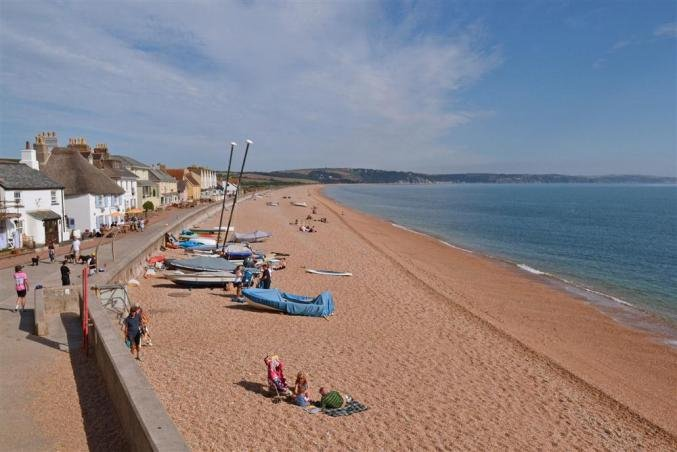 Nearby Torcross and the beach.