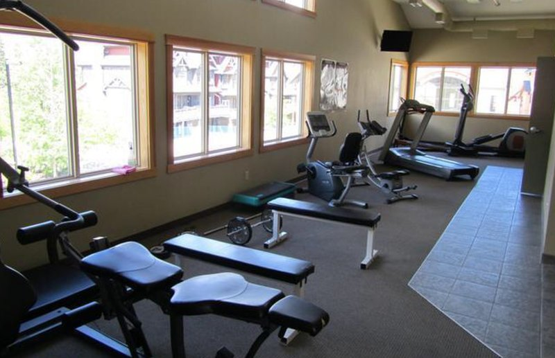Fitness room, only steps away