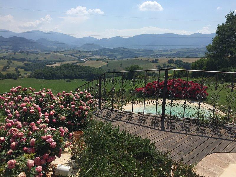 Il panorama mozzafiato The breath-taking view