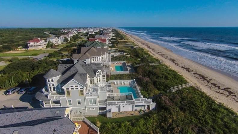 Architecture,Mansion,Coast,Outdoors,Sea