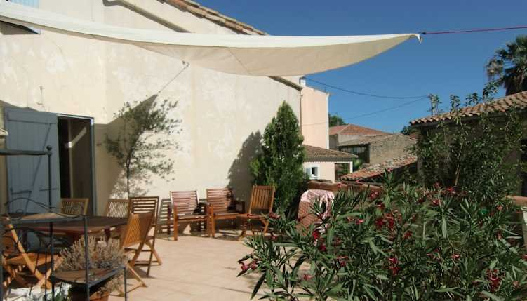 Pezenas French gites for rent in South France sleeps 6-8, vacation rental in Aumes