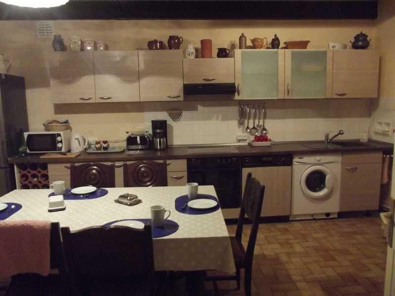 Casa Bretaña cocina