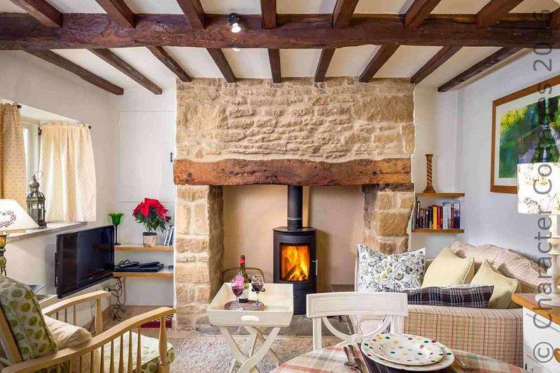 Bienvenue au beau salon de Rose End Cottage