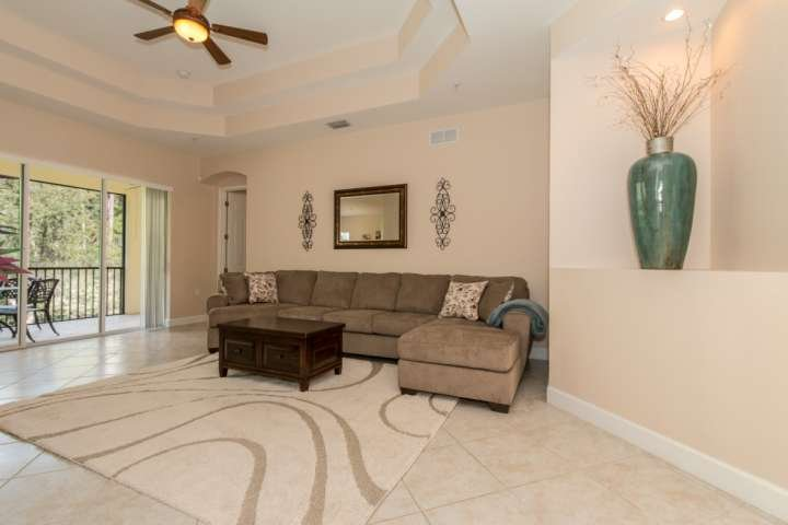 Beautiful, newly decorated condo with private 2nd floor screened lanai overlooking the nature preserve.