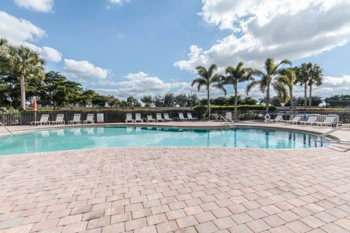 One of two heated community pools offering you hours of relaxation while you soak up the Florida sun.