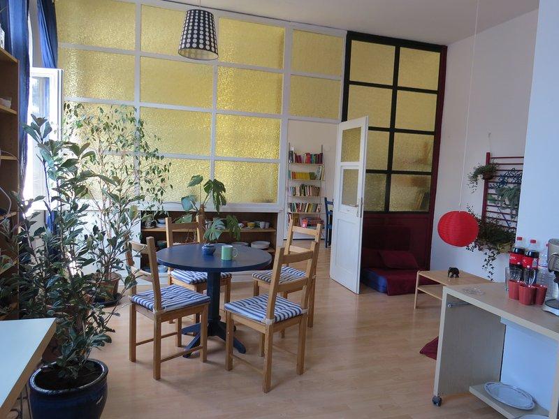 Alternatives Loft im Herzen des Kulturzentrums E-Werk, location de vacances à Stadtroda