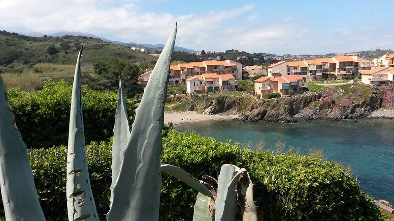 Villa superb sea view 100 m from the beach., alquiler de vacaciones en Port-Vendres