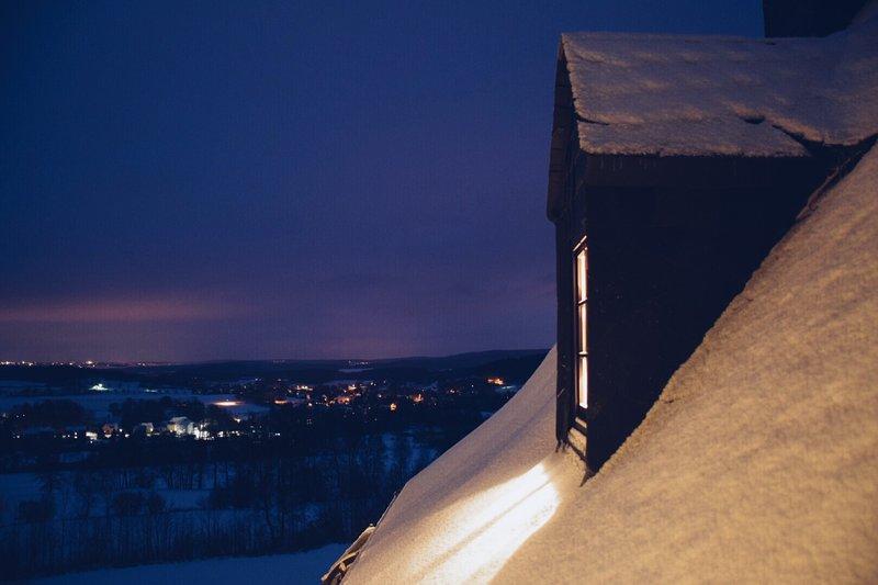 Winterausblick überm Vogtland