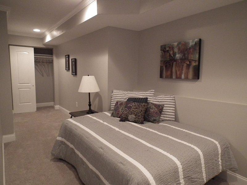 3 dormitorios con cama de matrimonio. Nivel inferior.