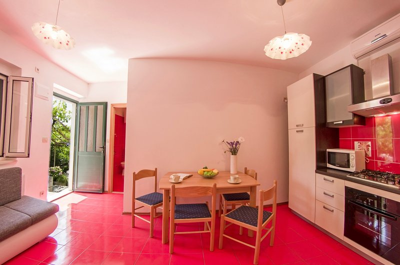 Renovated apartment with lovely terrace I, vacation rental in Sumartin