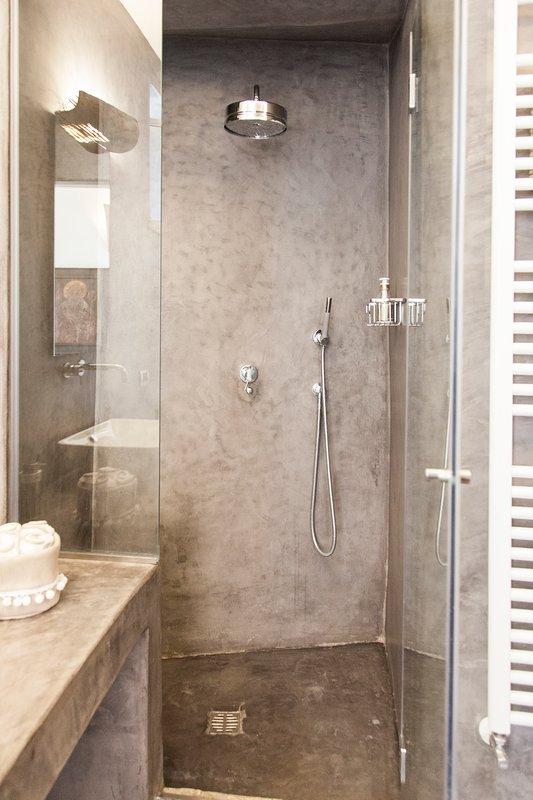 Suite Don Gaetano: duscha