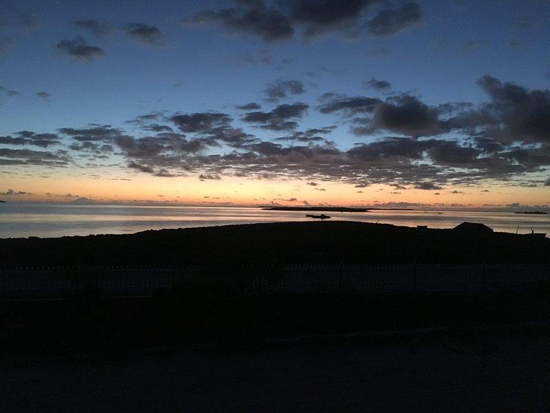Koraya Lodge - kurz vor Sonnenaufgang