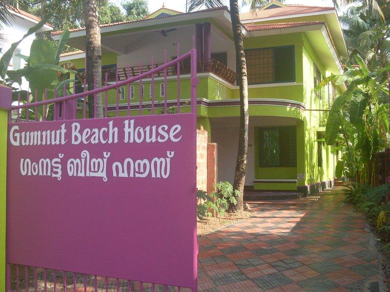 entrada de la casa