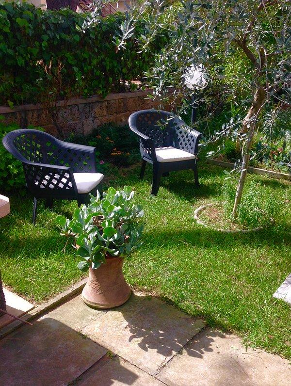 Espace détente dans notre jardin