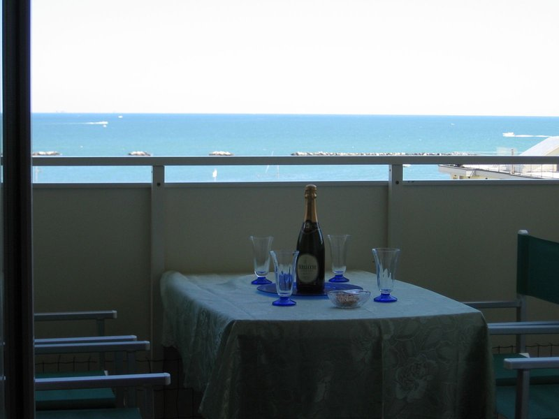 Amazing apartment with lift and terrace located 2 min. walking to the seaside, location de vacances à Gatteo a Mare