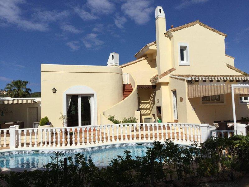La Manga Club. Private 4 bedroom villa with pool., alquiler vacacional en Municipio de Cartagena