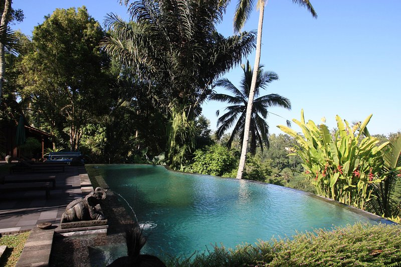 Gorgeous 4BR Villa in Ubud with spectacular view over the jungle!, holiday rental in Bresela