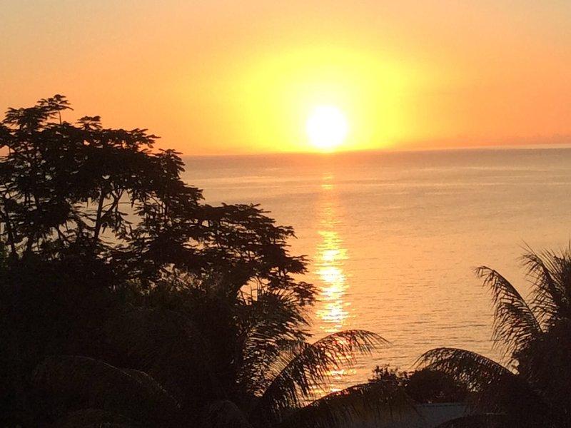 Kijken naar de zon naar beneden zal een dagelijks ritueel geworden