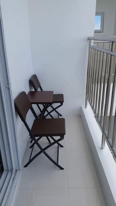 Balcone al piano superiore