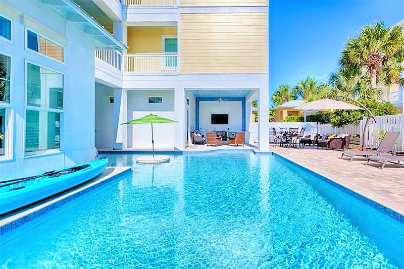 Born to Sun: Sleeps 31! Private Pool, Elevator, Game Room, Private Beach!, vacation rental in Miramar Beach