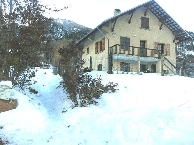 winter facade