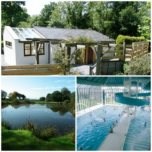 Lovely cottage with on site fishing & superb health club memberships