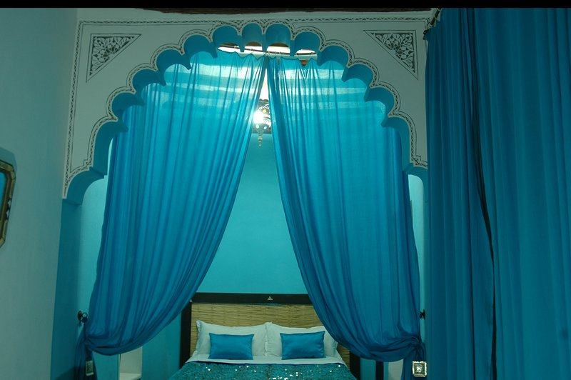Turquoise Blue Room