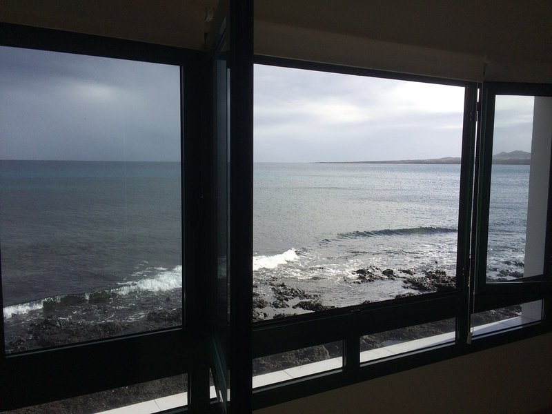 Kitchen-living room window